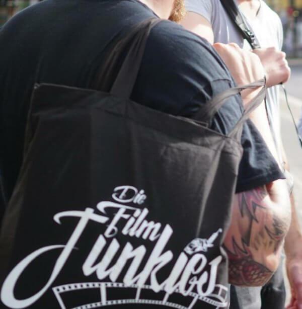 Die Film Junkies jutebeutel 1